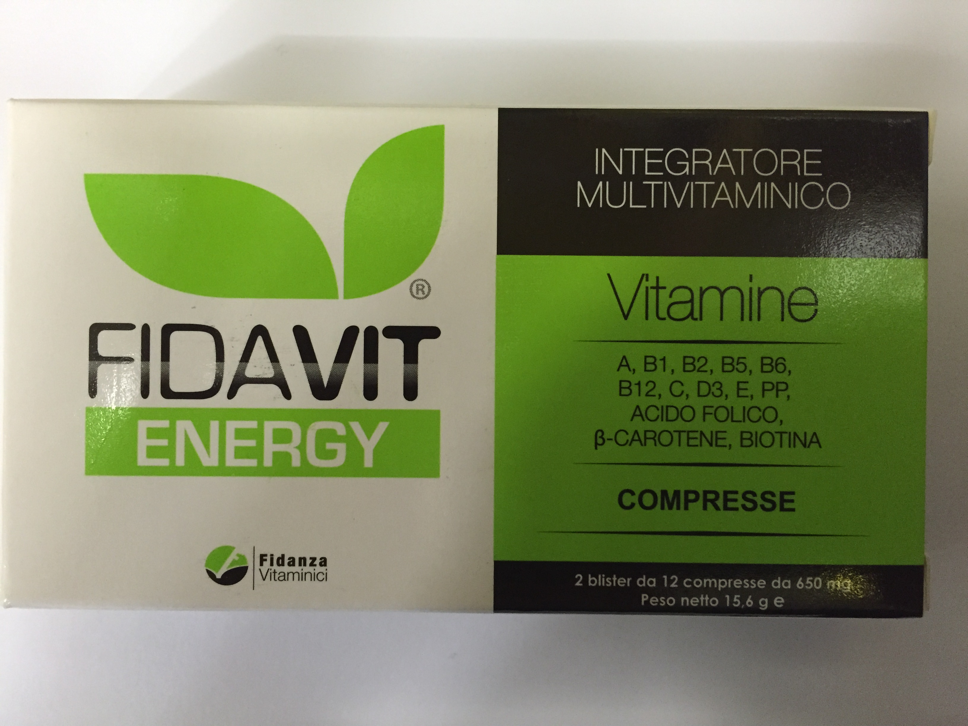 fidavit-energy-integratore-multivitamico-24-compresse