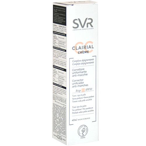 svr-clairial-cc-cream-correttore-uniformante-antimacchie-spf50-40ml